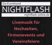Eventband Nightflash - Duo, Trio oder komplette Band, Musiker · DJ's · Bands Remshalden, Logo