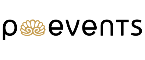 Logo p.events event & catering oHG, Catering & Barcatering Stuttgart